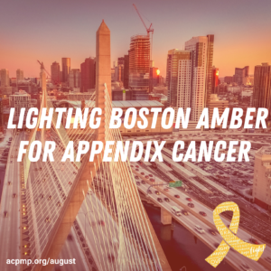 Lighting Cities Amber For Appendix Cancer  - ACPMP
